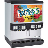 Servend 2705612 FRP-250 Flav'R Pic Ice / Beverage Dispenser with 8 Flavor Shots