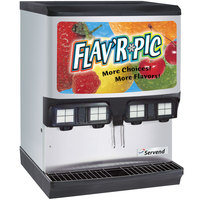 Servend 2706165 FRP-250 Flav'R Pic Ice / Beverage Dispenser with Autofill Valves