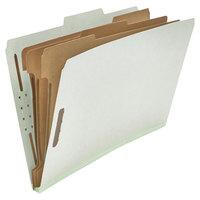 Universal UNV10297 Legal Size Classification Folder - 10/Box