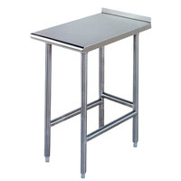 Advance Tabco TFMS-123 12 inch x 36 inch Equipment Filler Table