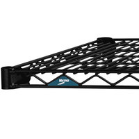 Metro 1472NBL Super Erecta Black Wire Shelf - 14 inch x 72 inch
