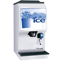 Servend 2706331 M90 Countertop Ice and Water Dispenser - 90 lb. Ice Storage Capacity