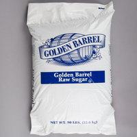 Golden Barrel 50 lb. Raw Turbinado Sugar