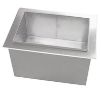 Servend 95-1200-9 2123 Drop-In Post-Mix 80 lb. Ice Chest with Cold Plate