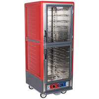 Metro C539-MDC-U C5 3 Series Moisture Heated Holding and Proofing Cabinet - Clear Dutch Doors