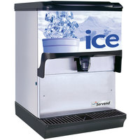 Servend 2705519 S150 Countertop Ice Dispenser - 150 lb. Ice Storage Capacity
