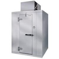 Kolpak P7-0612-CT Polar Pak 6' x 12' x 7' Indoor Walk-In Cooler with Top Mounted Refrigeration