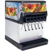 Servend 2703527 CEVj-30 6 Valve Post-Mix Sanitary Lever Countertop Juice Dispenser