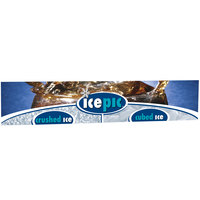 Servend 2705970 24 inch High icepic Extended Merchandising Sign
