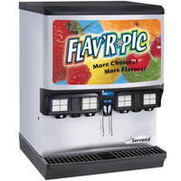 Servend 2705614 FRP-250 Flav'R Pic Ice / Beverage Dispenser with Selectable Ice