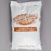 Golden Barrel 50 lb. Light Brown Sugar