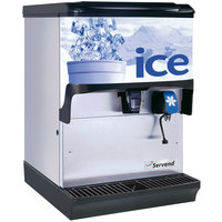 Servend 2705723 S250 Countertop Ice and Water Dispenser - 250 lb. Ice Storage Capacity
