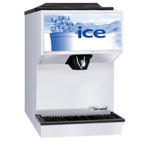 Servend 2706335 M45 Countertop Ice Dispenser - 45 lb. Ice Storage Capacity