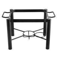 Choice Wrought Iron Pillar Half Size Chafer Stand