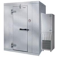 Kolpak P7-1010-FS Polar Pak 10' x 10' x 7' Indoor Walk-In Freezer with Side Mounted Refrigeration