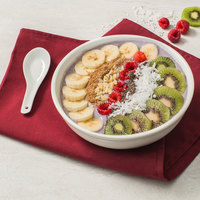 Core by Acopa 35 oz. Bright White China Menudo / Pasta / Salad Bowl - 12/Case