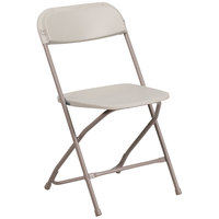 Flash Furniture LE-L-3-BEIGE-GG Beige Folding Chair