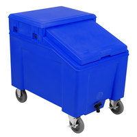 IRP 3110004 Blue Ice Caddy 100 lb. Mobile Ice Bin