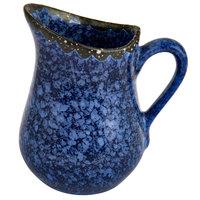 American Metalcraft PBBU2 2.5 oz. Blue Artisanal Porcelain Bell Creamer