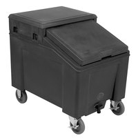 IRP 3110001 Black Ice Caddy 100 lb. Mobile Ice Bin