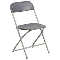 Flash Furniture LE-L-3-GREY-GG Grey Folding Chair