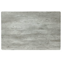 Grosfillex 99851038 32 inch x 48 inch Rectangular Granite Outdoor Molded Melamine Table Top
