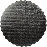 Enjay SW-10RSBEMB 10 inch Black Laminated Corrugated Cake Circle - 200/Case