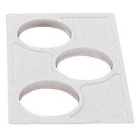 White Cambro CPH3148 Crock Holder for Cambro Food Bars