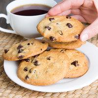 David's Cookies 1.5 oz. Preformed Chocolate Chip Cookie Dough - 20 lb.