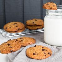 David's Cookies 1.33 oz. Preformed Chocolate Chip Cookie Dough - 20 lb.