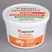 Kronos 4 lb. Tub of Classic Hummus - 2/Case
