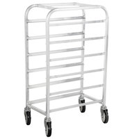Winholt SS-126 End Load Stainless Steel Platter Cart - Six 12 inch Trays
