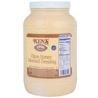 Ken's Foods 1 Gallon Dijon Honey Mustard Dressing - 4/Case