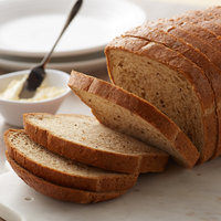 Bakery de France 32 oz. Sliced Seeded Rye Bread Loaf - 6/Case