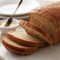Bakery de France 32 oz. Sliced Seeded Rye Bread Loaf - 6/Case