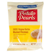 Basic American Foods 28 oz. Bag Potato Pearls Original Butter Mashed Potatoes   - 12/Case