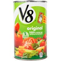 V8 46 oz. Original 100% Vegetable Juice - 12/Case