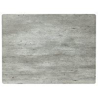 Grosfillex UT310038 24 inch x 32 inch Rectangular Granite Outdoor / Indoor HPL Compact Table Top