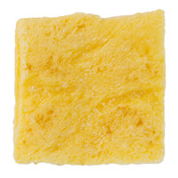 Papetti's Table Ready 3 inch Fully-Cooked Square Scrambled Egg Patty - 120/Case