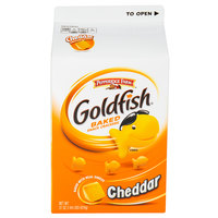 Pepperidge Farm 31 oz. Carton Goldfish Cheddar Crackers - 6/Case