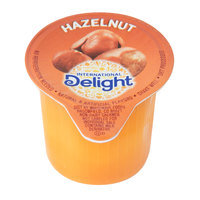 International Delight 0.5 oz. Non-Dairy Hazelnut Coffee Creamer - 288/Case
