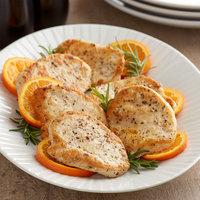OK Foods 4 oz. Boneless Skinless Uncooked Chicken Breast - 15 lb.