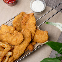 Mountain Valley Farms 10 lb. Case Uncooked Breaded Chicken Tenders