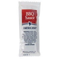Americana 12 Gram Barbecue Sauce Portion Packet - 200/Case