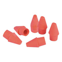 Universal UNV55150 Pink Pencil Cap Eraser   - 150/Pack