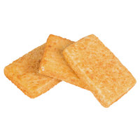 High Liner Foods 4 oz. Wild Caught Oven Ready Breaded Haddock Rectangles - 10 lb.
