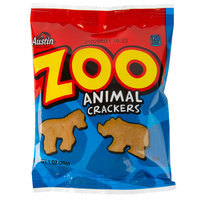 Austin 1 oz. Bag of Zoo Animal Crackers - 100/Case