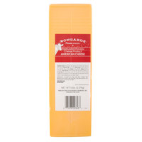Bongards 5 lb. Solid Block Yellow American Cheese