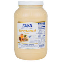 Ken's Foods, Inc. 1 Gallon Golden Honey Mustard Dressing - 4/Case
