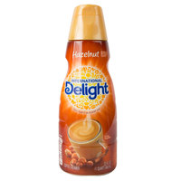 International Delight 32 oz. Hazelnut Coffee Creamer   - 12/Case